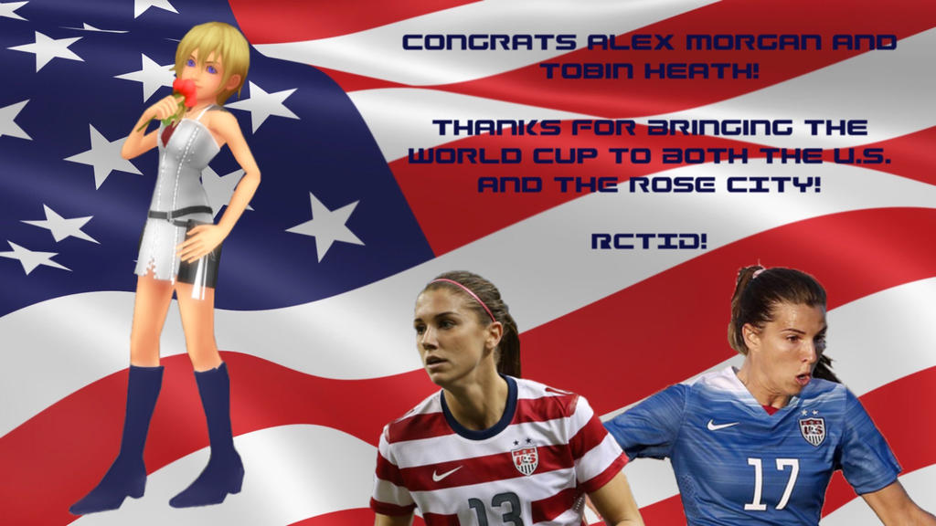 Namine - FIFA Women's World Cup U.S. Victory Pic by rev-rizeup