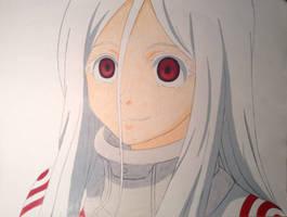 Shiro - Deadman Wonderland by AligerousWayfarer