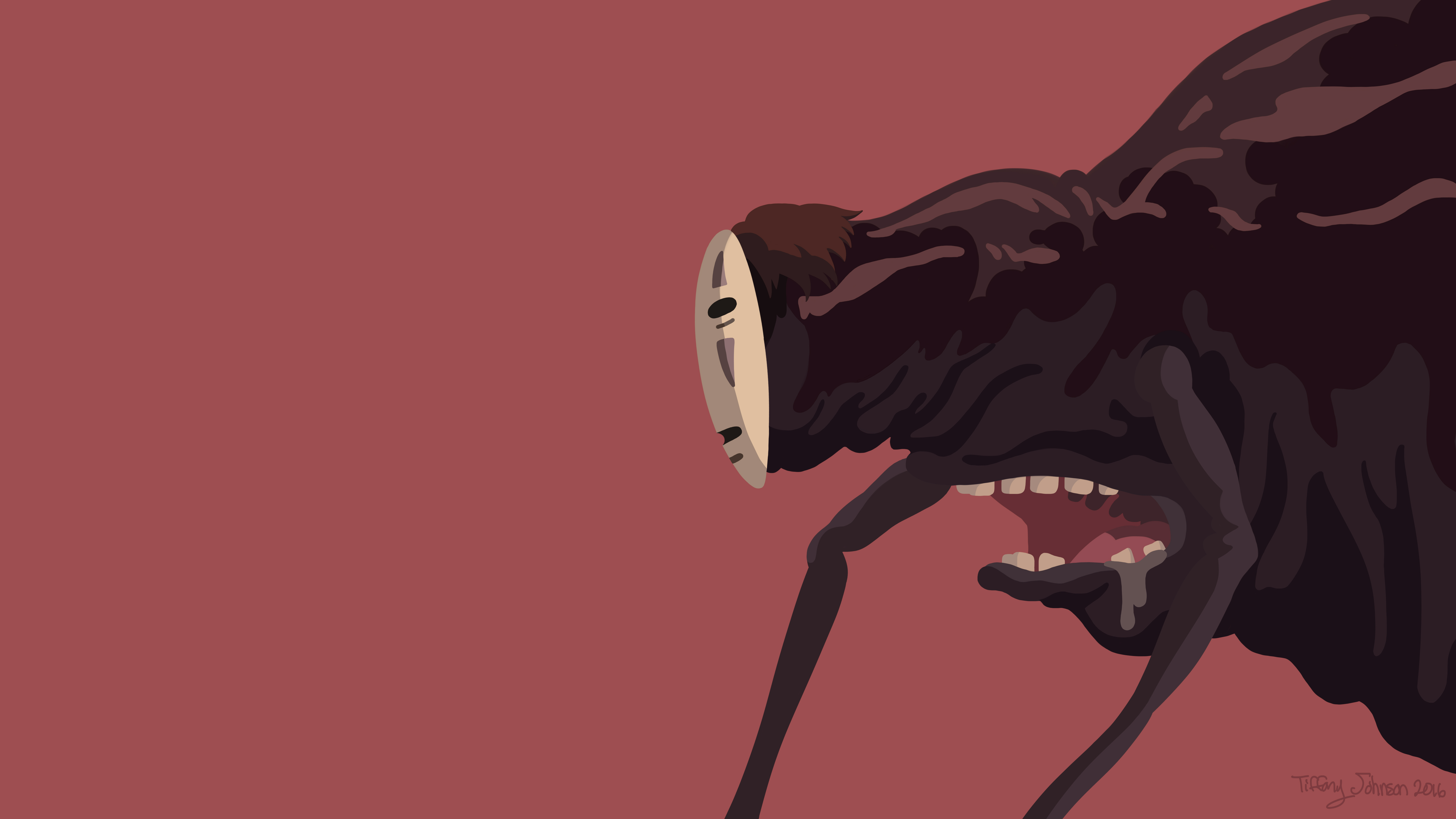 No Face Frog Version Spirited Away Minimal By