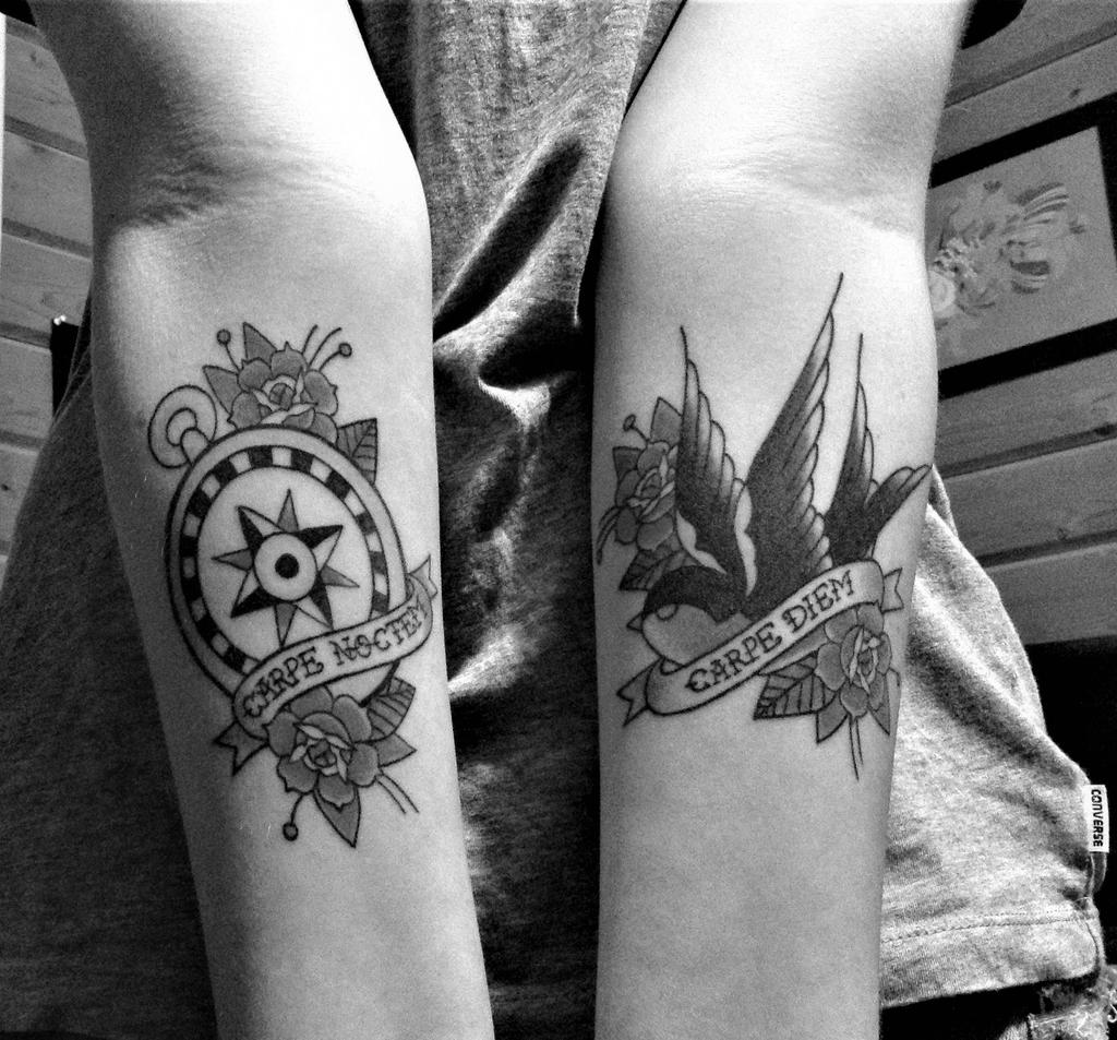 Carpe Diem Tattoo Ankle carpe diemaligerouswayfarer on deviantart