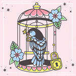 Bird Cage Traditional Tattoo - Simple