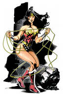 Wonder Woman Colored by prizzy726