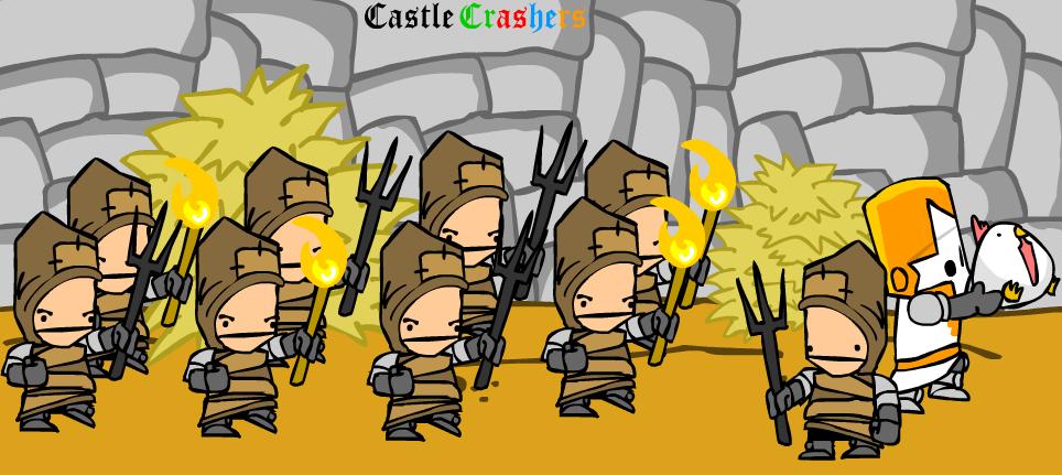 Castle Crashers By Neko5113 Fan Art Manga Anime Digital Games  Apps