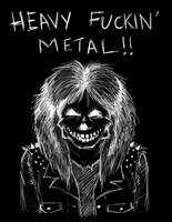 Heavy METAL by zombiepencil