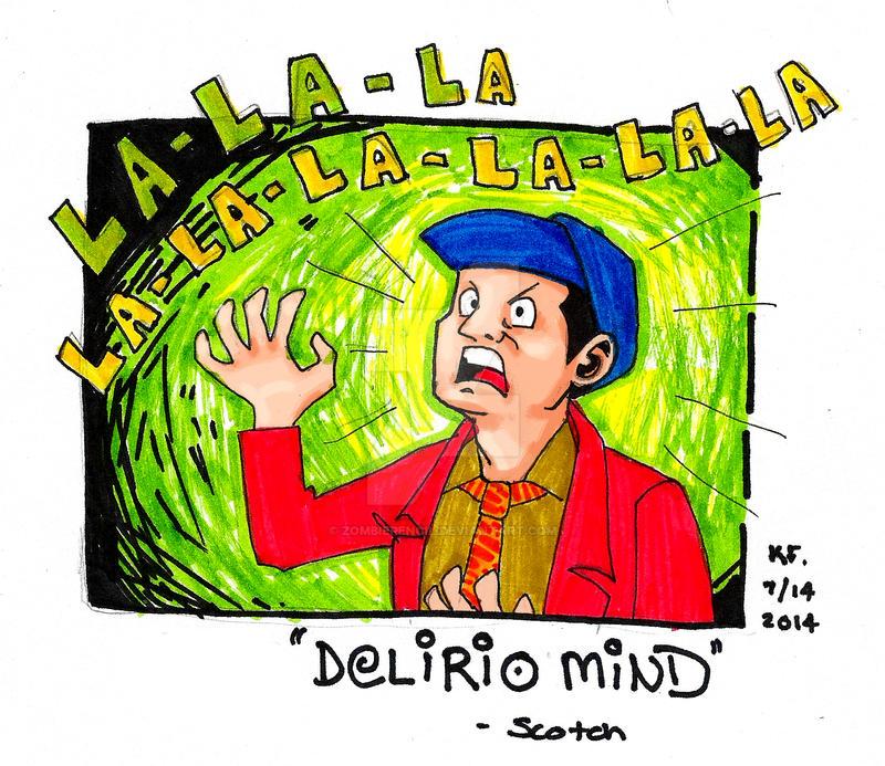 Delirio Mind by zombiepencil