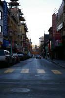 Chinatown at Dawn