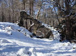 Stone Stairs in Winter