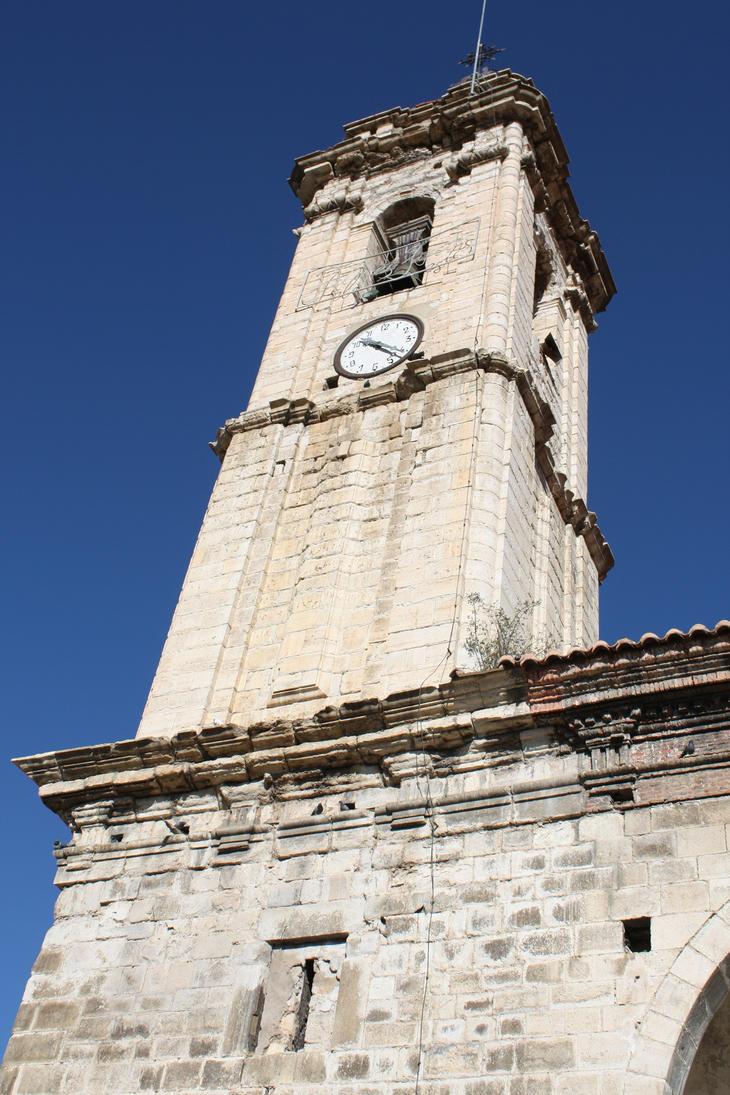 Fortanete church by Gloria-T-DaudenStock