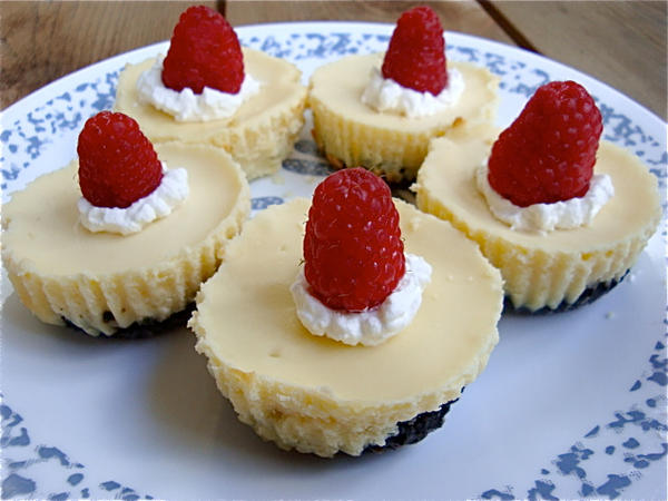Mini Cheesecakes + recipe by Cassandrina