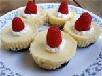 Mini Cheesecakes + recipe