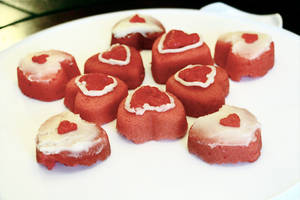 Pieces of Heart + Heart Containers Mini Cakes 3 by Cassandrina