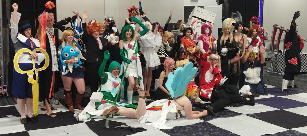 Otakuthon - Cosplay Chess 2015 by Cassandrina