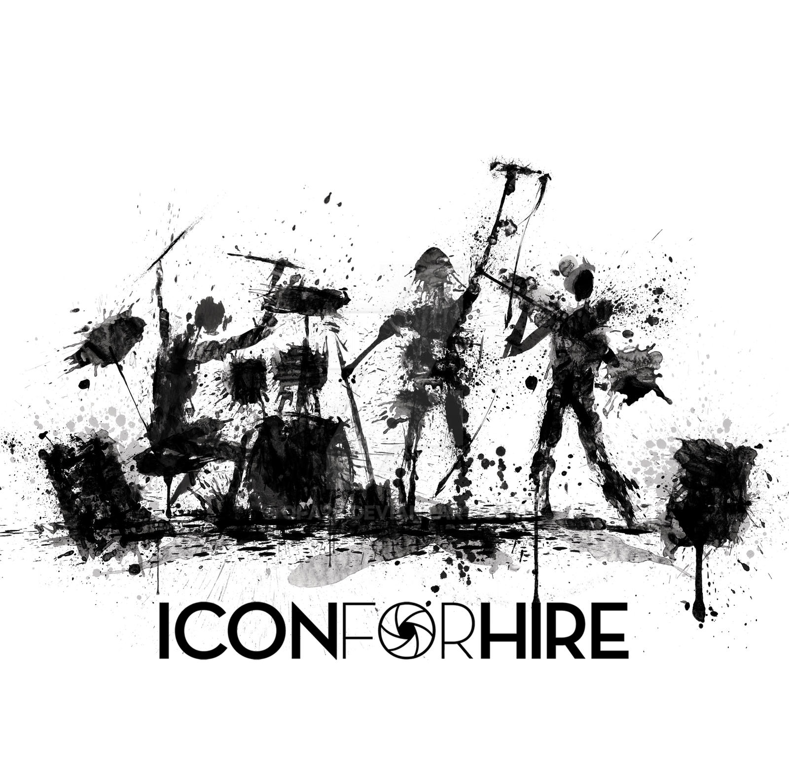 Official Icon For Hire T Shirt Design By Travis By Ofa20 On Deviantart