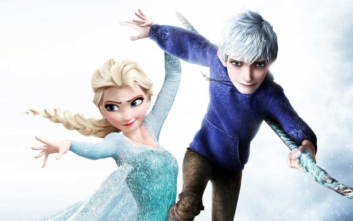 Elsa and jack frost by jonfarnold on deviantart elsa and jack frost by jonfarnold altavistaventures Choice Image