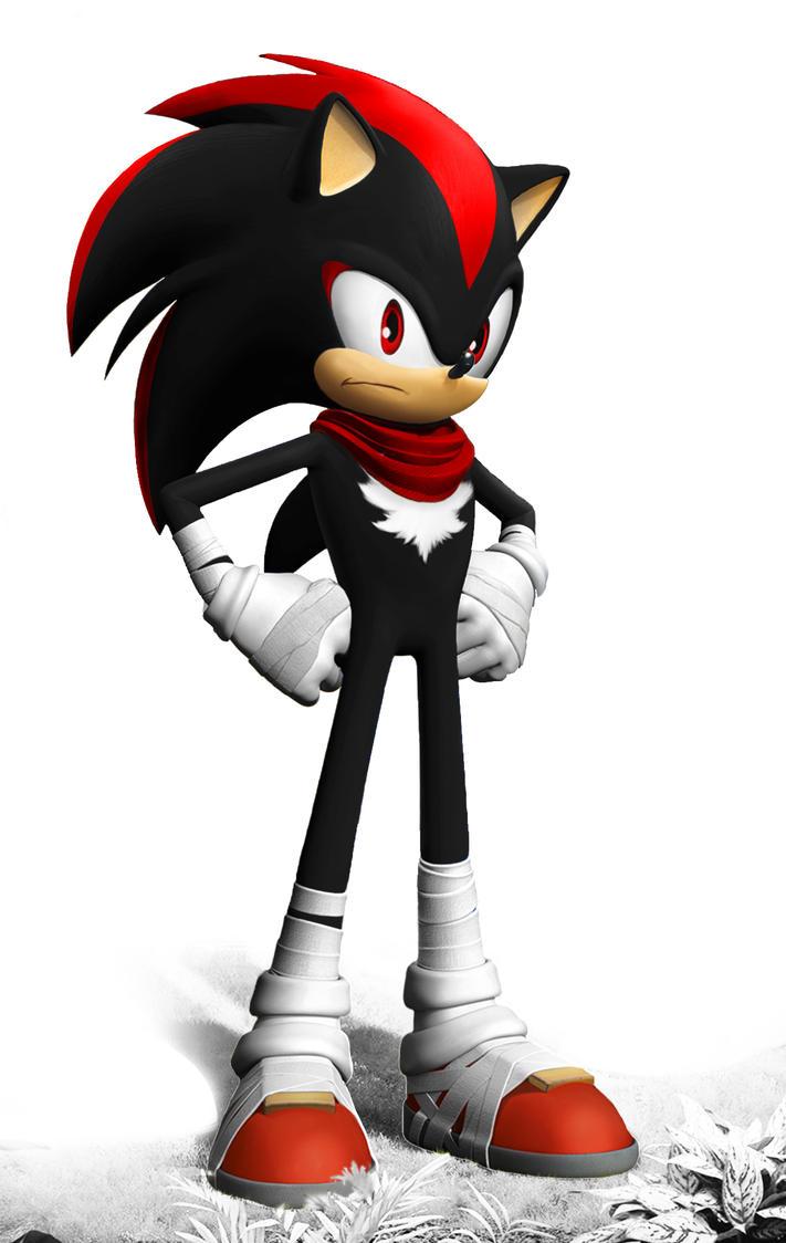 Sonic boom shadow the hedgehog by jonfarnold on deviantart - Sonic boom shadow ...