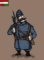 Valiant Hearts: Austro-Hungarian soldier by renato8881