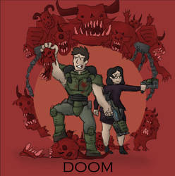 Doom Cover Art by renato8881