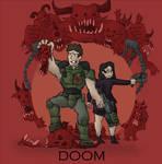 Doom Cover Art by renato8881