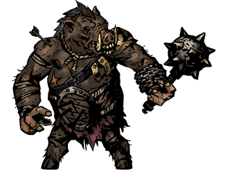 Darkest Dungeon: Great Boar by renato8881