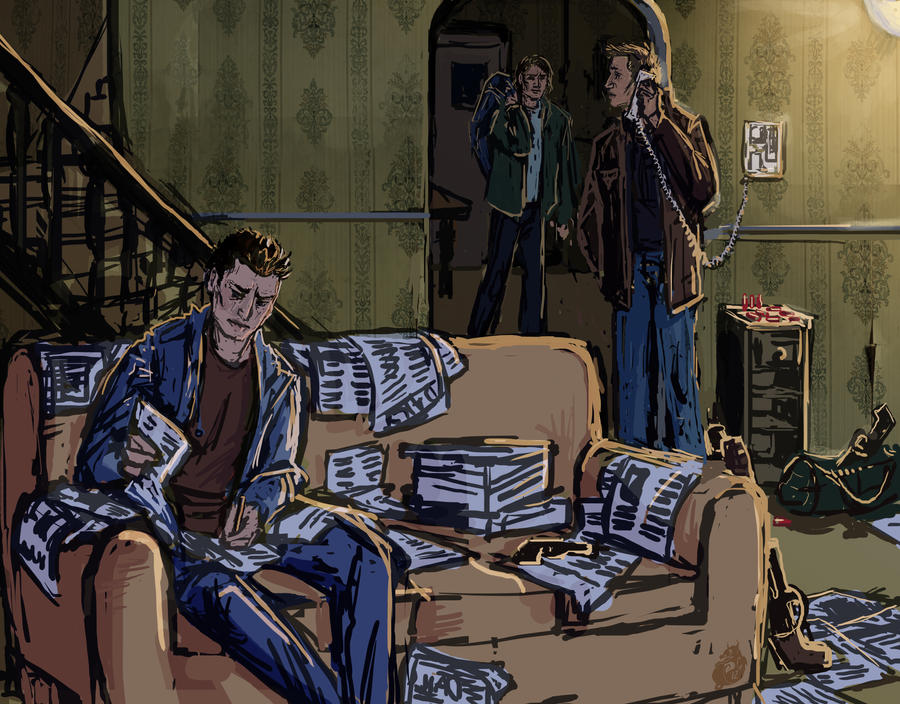 SPN: Hunt Prep by Jade-Magic