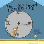 The old town timepiece