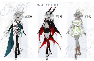 Auction and Set price : OUTFIT #390-392 [CLOSE] by Popza10CM