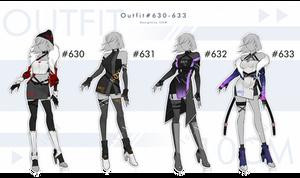 Auction : OUTFIT #630-633 [CLOSE]
