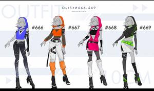 Auction : OUTFIT #666-669 [CLOSE]