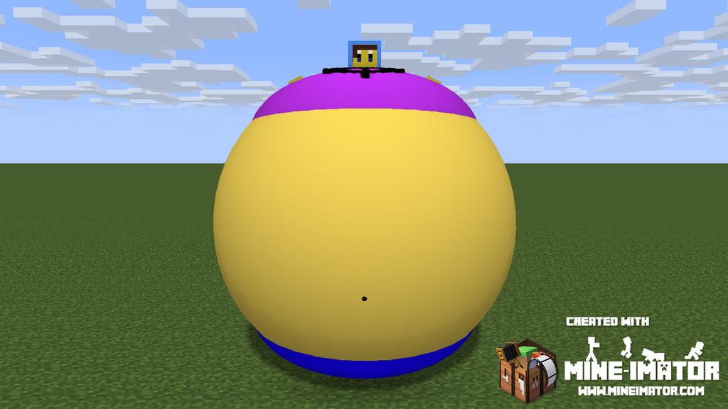 Inflated Galaxie (Mine Imator) by Spongecat1
