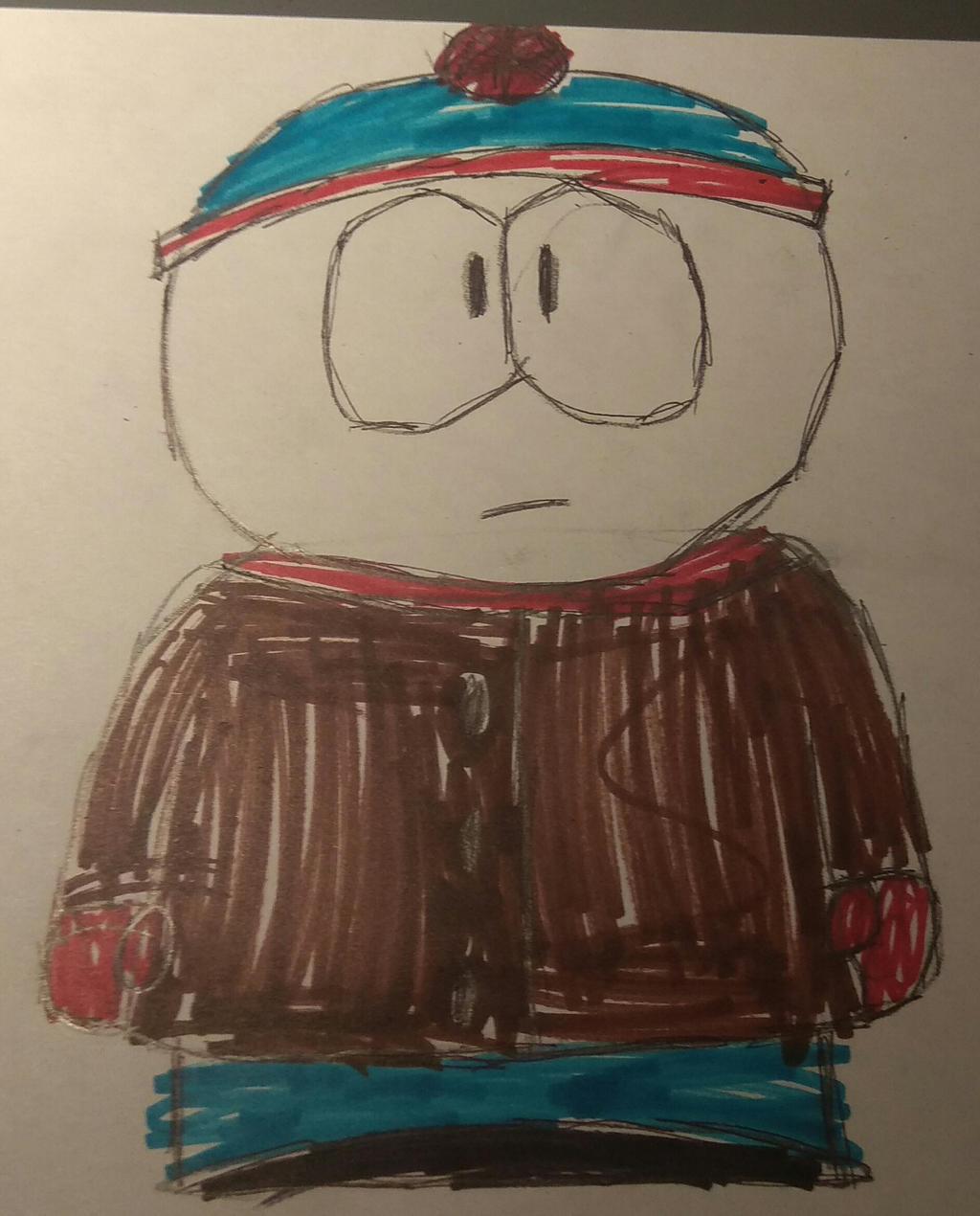 [T]: Stan Drawing by Spongecat1