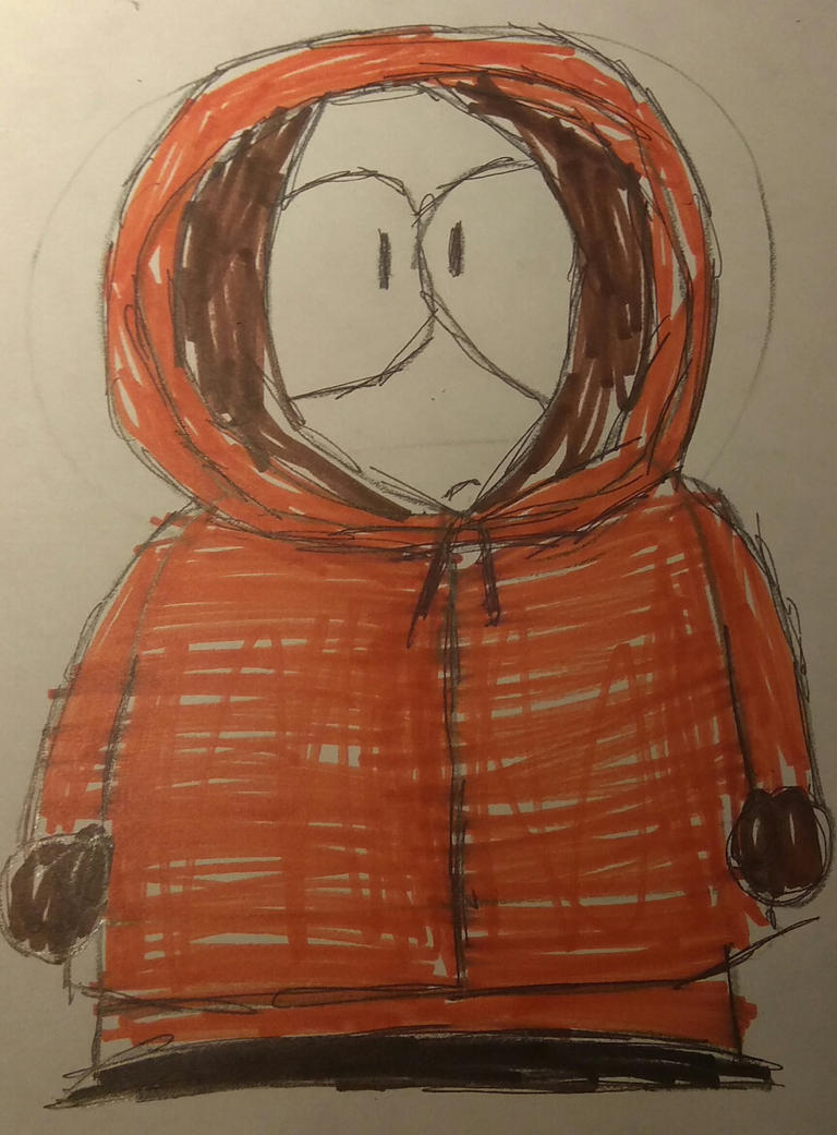[T]: Kenny Drawing by Spongecat1