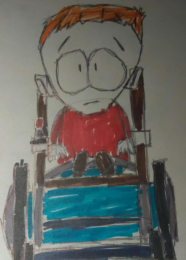 [T]: Timmy Drawing  by Spongecat1