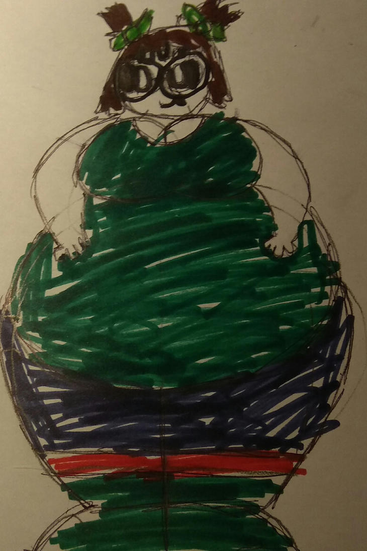 [R]: Sarah (Front View)  by Spongecat1
