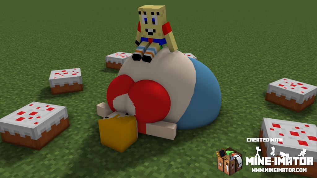 [G]: She loves cake! by Spongecat1
