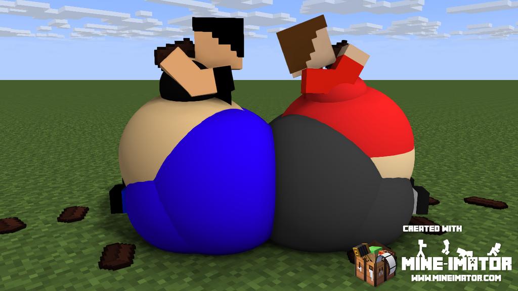 [AT-MC]: Chocolate Chubby Buddies by Spongecat1