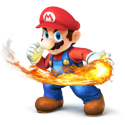 Mario SSB4 by Spongecat1