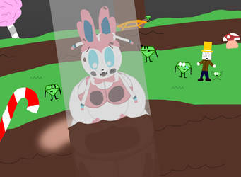[Request]: Annie Stuck in the Chocolate Chute by Spongecat1