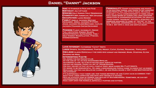 Danny's Full Bio