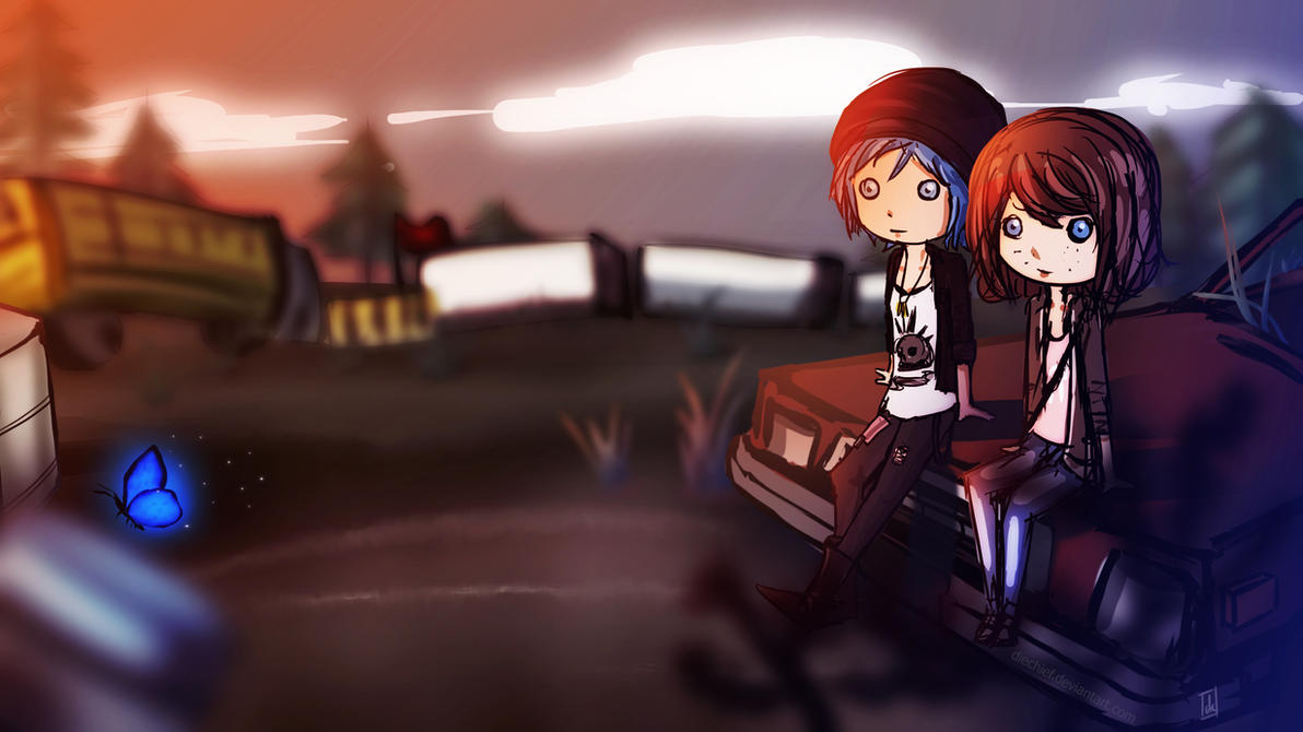 Life is Strange: Max and Chloe by diechief