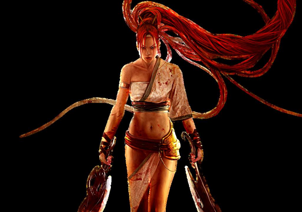 Nariko with heavenly swords icon by SlamItIcon