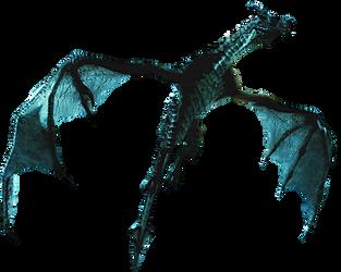 Blue dragon icon by SlamItIcon