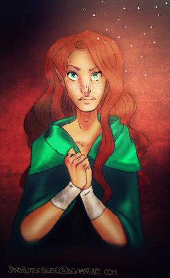 Amberle Elessedil by SandButterbeer