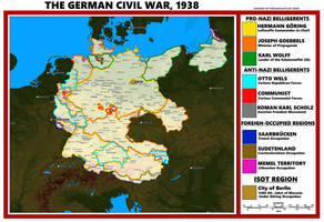 The German Civil War 1938