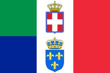 Italo-French Empire (Flag)