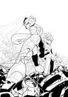 megaman zero fanart by hendryzero