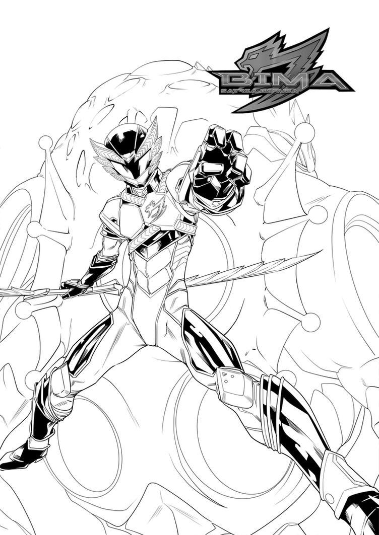BIMA #3 cover by hendryzero