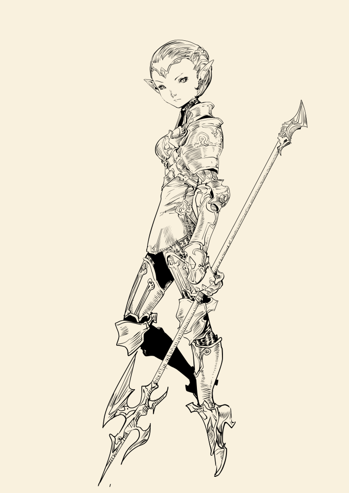 lancer by hendryzero