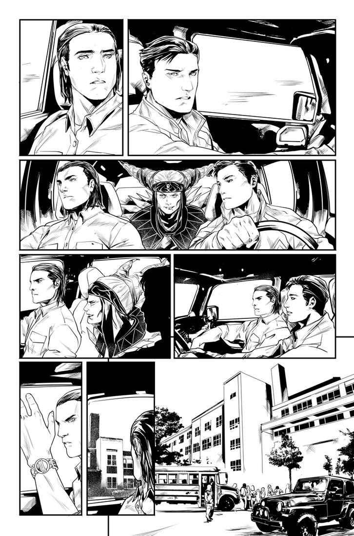 Power Rangers #0 pg 2 by hendryzero