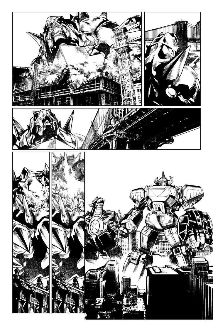 Power Rangers #0 pg 7 by hendryzero