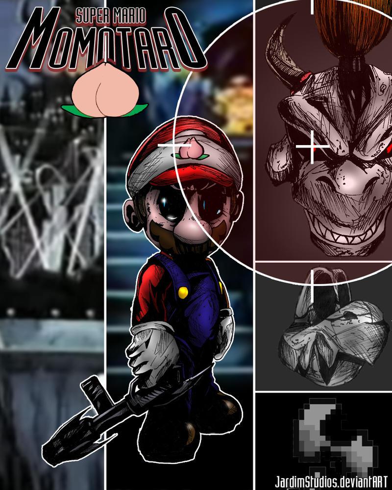 Super Mario Momotaro by JardimStudios